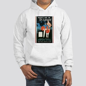 ST. LOUIS MISSOURI Hooded Sweatshirt