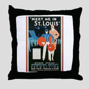 ST. LOUIS MISSOURI Throw Pillow