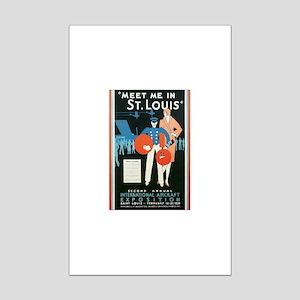 ST. LOUIS MISSOURI Mini Poster Print