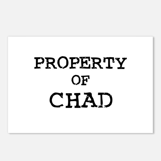 Property of Chad Postcards (Package of 8)