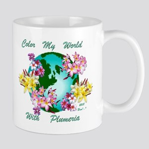 Plumeria World Mug