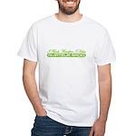 HamTees.com I Think Therefore I Ham White T-Shirt