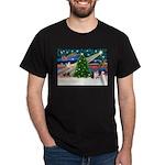 Xmas Magic & Corgi Dark T-Shirt