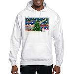 Xmas Magic & Corgi Hooded Sweatshirt