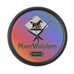 MareWatchers Large Wall Clock