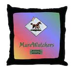 MareWatchers Throw Pillow