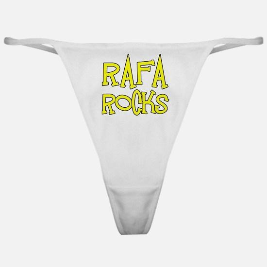 Rafa Rocks Tennis Design Classic Thong
