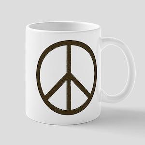 Cool Vintage Peace Sign Mug