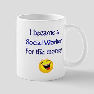 Laughing Social Worker Mug