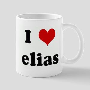 I Love elias Mug