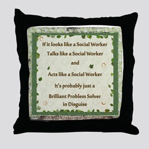 Problem Solver Throw Pillow