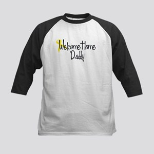 Welcome Home Daddy 50's Kids Baseball Jersey