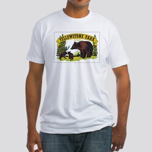YELLOWSTONE PARK Fitted T-Shirt