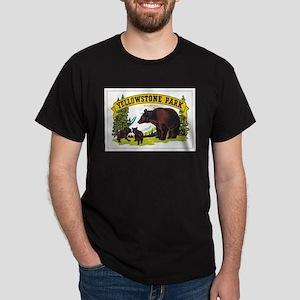 YELLOWSTONE PARK Dark T-Shirt