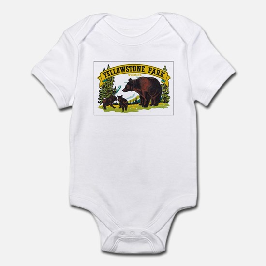 YELLOWSTONE PARK Infant Bodysuit