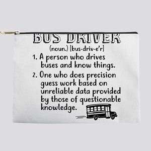 Bus Driver Makeup Bag