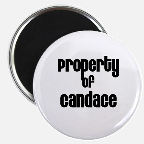 Property of Candace Magnet