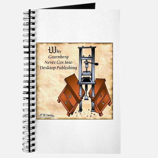 Gutenberg's Desktop Publishing Journal
