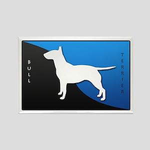 Bull Terrier Rectangle Magnet