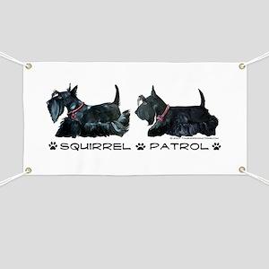 Scottie Squirrel Patrol Terri Banner