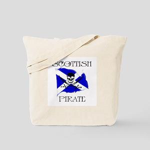 Scottish Pirate Tote Bag