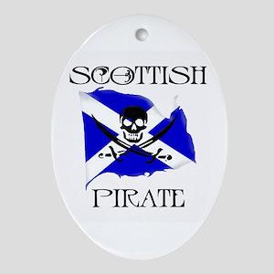 Scottish Pirate Keepsake (Oval)