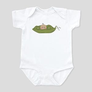 Caucasian Single Baby Infant Bodysuit