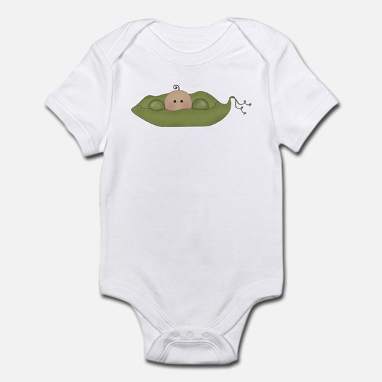 Caucasian Single Baby Infant Bodysuit