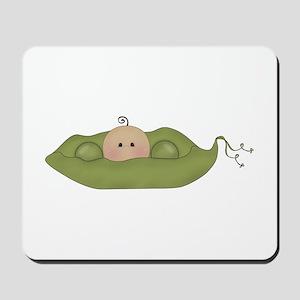 Caucasian Single Baby Mousepad