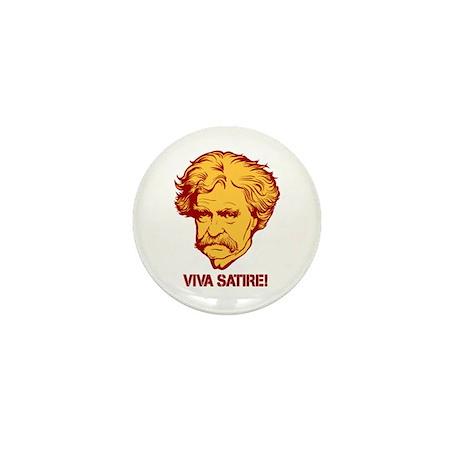 Twain Viva Satire Mini Button (100 pack)