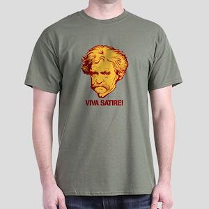 Twain Viva Satire Dark T-Shirt