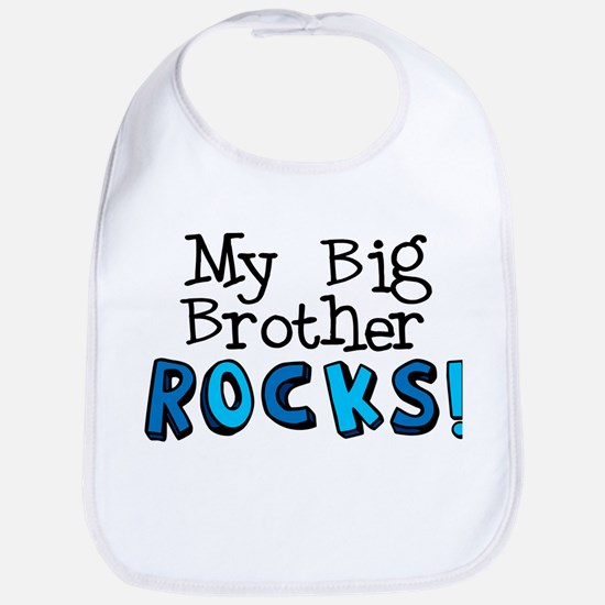 My Big Brother Rocks! Bib