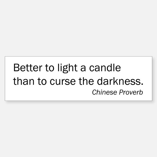 Light a candle...