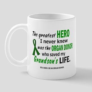 Hero I Never Knew 1 (Grandson) Mug