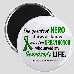 Hero I Never Knew 1 (Grandson) Magnet