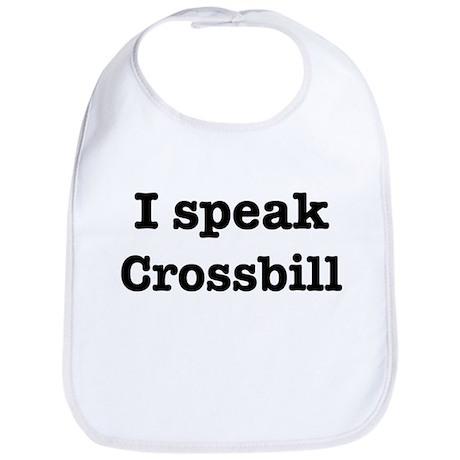 I speak Crossbill Bib