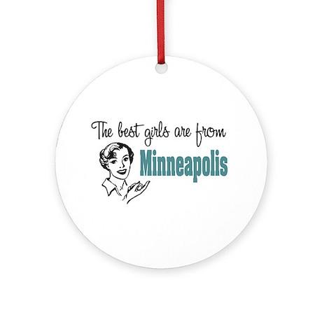 Best Girls Minneopolis Keepsake (Round)