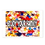 Enjoy Your Family Pills Postcards (Package of 8)