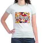 Enjoy Your Family Pills Jr. Ringer T-Shirt