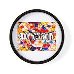 Enjoy Your Family Pills Wall Clock