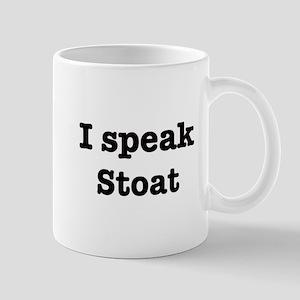 I speak Stoat Mug