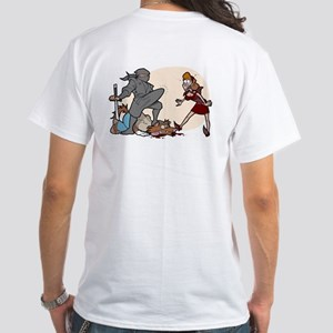 NinjaHood White T-Shirt