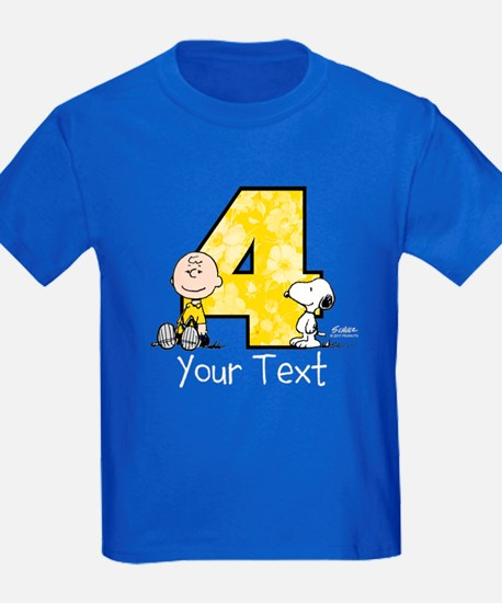 Charlie Brown Snoopy 4-Year-Old T