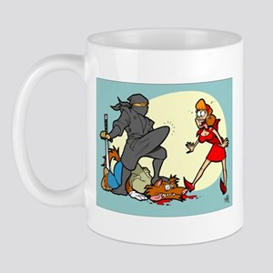 Ninja Hood Mug