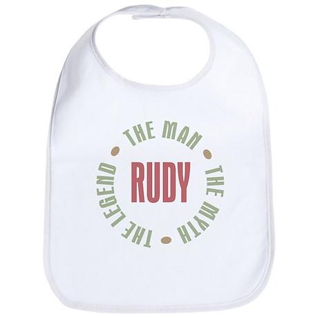 Rudy Man Myth Legend Bib