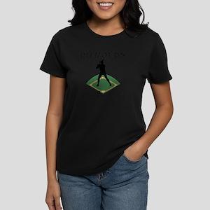 Diamonds - Girls Best Friend Womens Violet T-Shirt