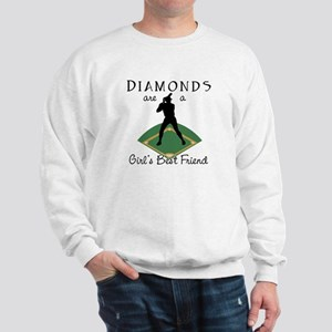 Diamonds - Girl's Best Friend Sweatshirt