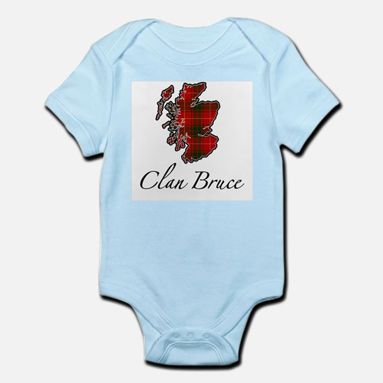 Clan Bruce Map - Infant Bodysuit