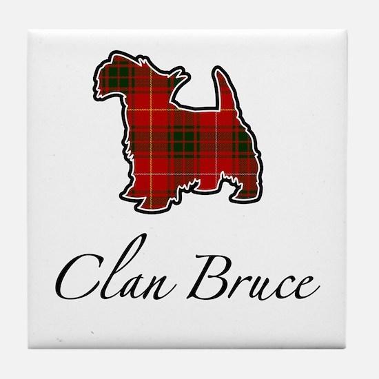 Bruce - Scotty Dog - Tile Coaster