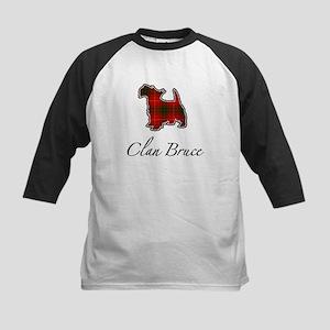 Bruce - Scotty Dog - Kids Baseball Jersey